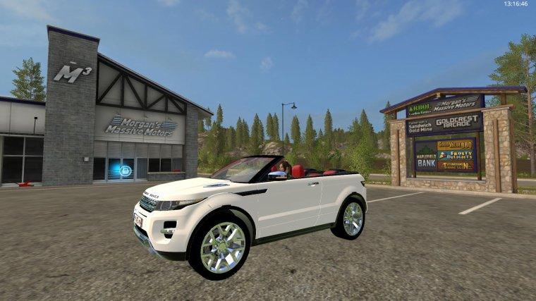 FS17   Range Rover Evoque Cabriolet  P2
