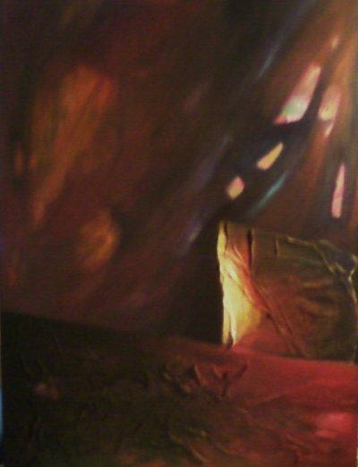 Paysages poétiques, 2010, 90*70cm, acrylique sur toile, suite