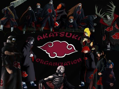 les membres de l'akatsuki