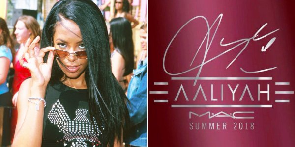 MAC ANNONCE LA SORTIE D'UNE COLLECTION MAKE-UP INSPIRÉE D'AALIYAH