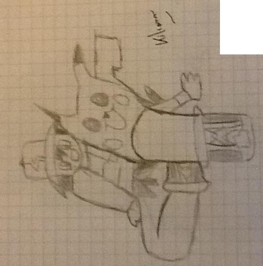 Voici mes derniers dessins :)