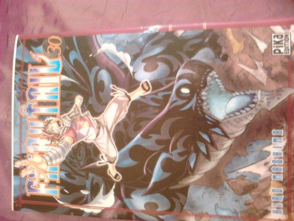 Dernier achat manga : Fairy tail n°30