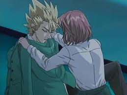 Voilà Hiruma et Mamori ! ! !