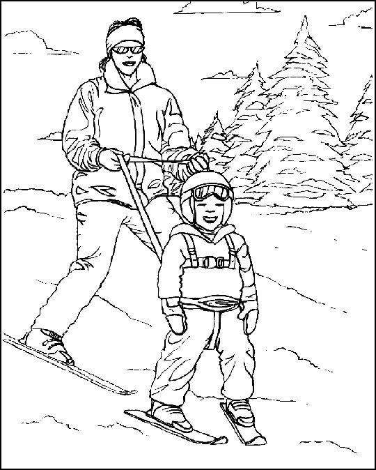 Jak aimait énormément le ski
