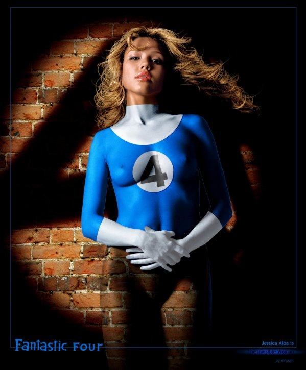 La femme invisible le monde des super h ros - Femme invisible 4 fantastiques ...