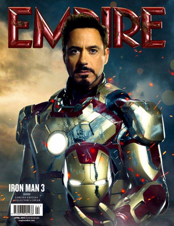 Iron Man 3  dans  le magasine EMPIRE