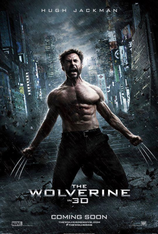the wolverine  new affiche