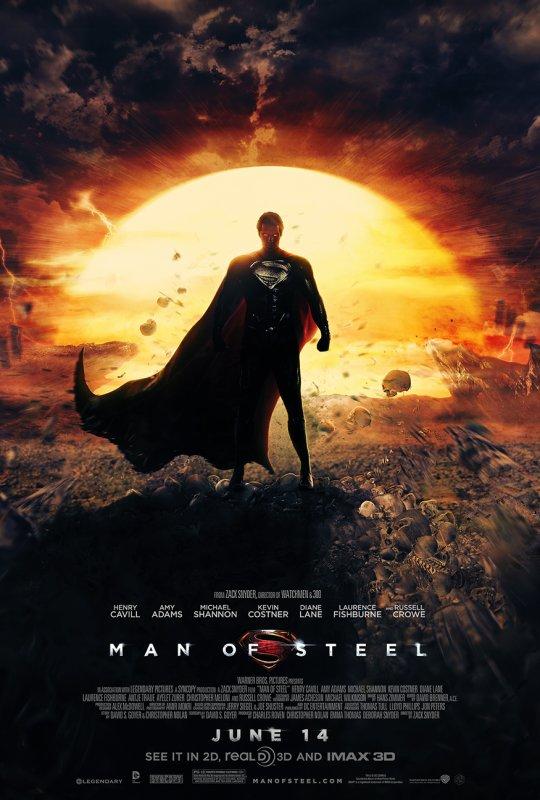 donner moi votre avis sur le film  man of steel