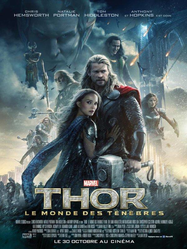 Thor  Le Monde des ténèbres  nouvelle affiche  et  bande  annonce