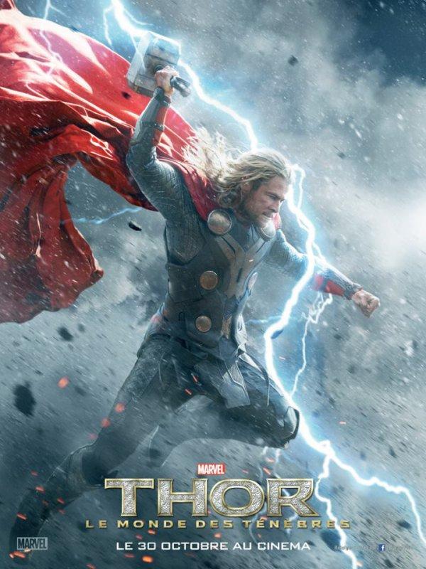 Thor  Le Monde des ténèbres new affiche