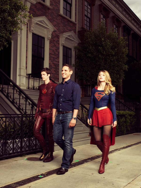 supergirl & flash   Variety Magazine 2015