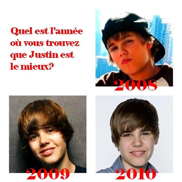 2008, 2009 ou alors 2010? Là c'est à vous de choisir!!