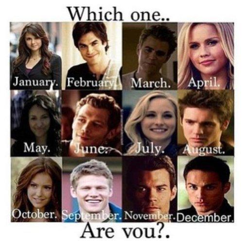 Quel mois êtes vous né ?
