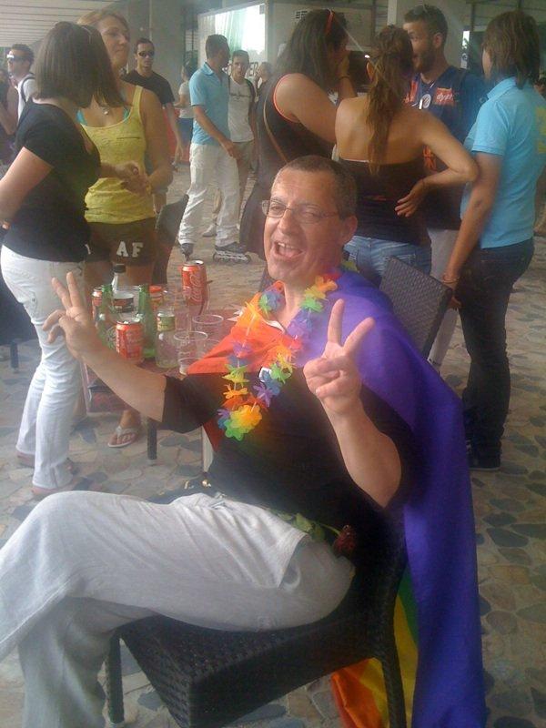 la gaypride a Montpellier le 02 / 06 /2012