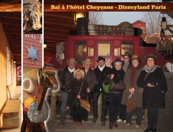 BAL À L'HÔTEL CHEYENNE - DISNEYLAND PARIS - 30 JANVIER 2011