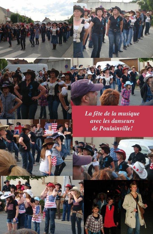 FÊTE DE LA MUSIQUE À POULAINVILLE - 21 JUIN 2011