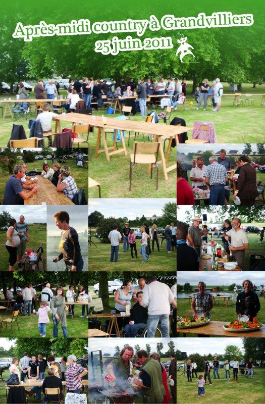 APRÈS-MIDI COUNTRY À GRANDVILLIERS - 25 JUIN 2011
