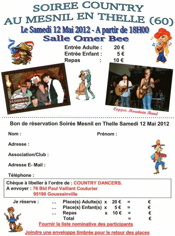 BAL COUNTRY LE SAMEDI 12 MAI 2012 - MESNIL-EN-THELLE (60)