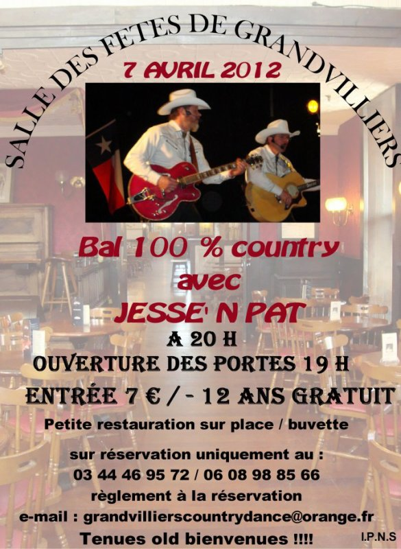 BAL COUNTRY LE 7 AVRIL 2012 - GRANDVILLIERS (60)