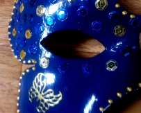 Inspiration Venise or et bleu