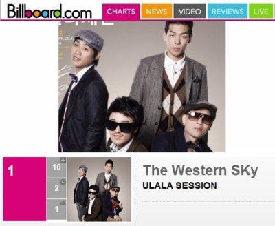 Classement Billboard Kpop Hot 100 : Ulala Session (Super Star K2) décroche la première place