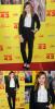 23/02/2013 Chloë Grace Moretz entièrement habillée en Dolce & Gabbana lors de l'avant-première de Movie 43 à Los Angeles.