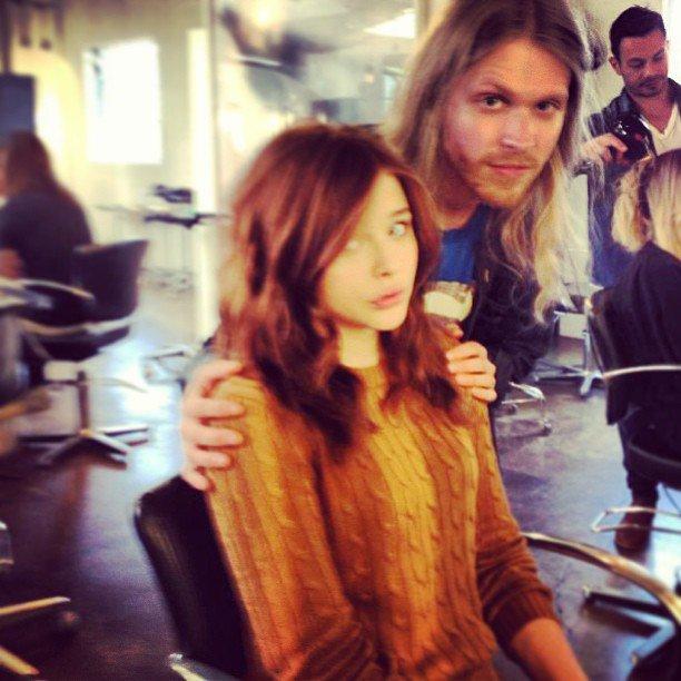23/ 02/ 13 : Chloë a assisté au diner de la maison de couture Chanel pour les 'Pre-Oscar'.
