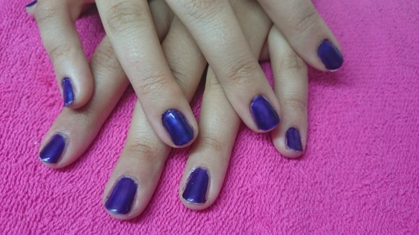 MA FILLE  ANAIS, vernis permanent