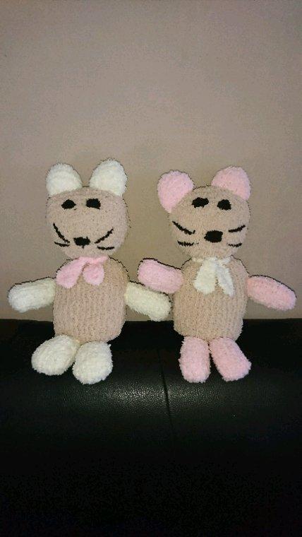 Les ours jumeaux réservés à 2 petites filles