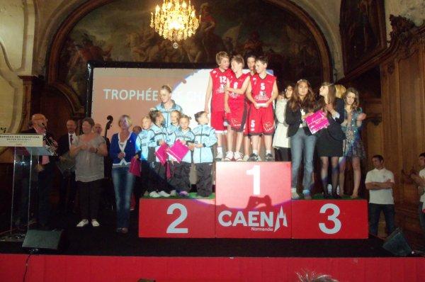 REMISE DU TROPHEE DES CHAMPION 2011