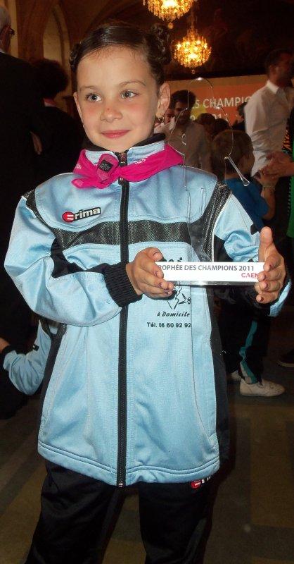 TROPHEE DES CHAMPIONS 2011 A CAEN
