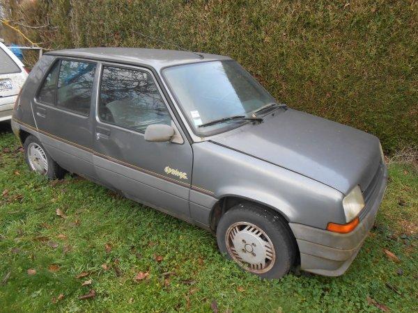Renault super 5 spring