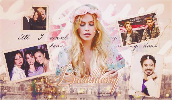 Bienvenue  sur mon blog bazar; Breathlessy ♥