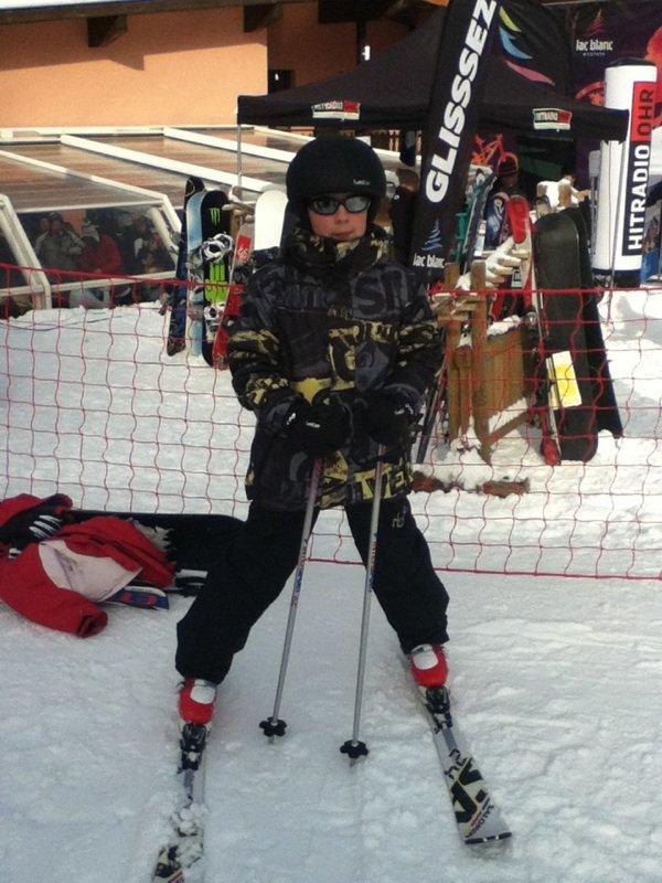 Journée au ski
