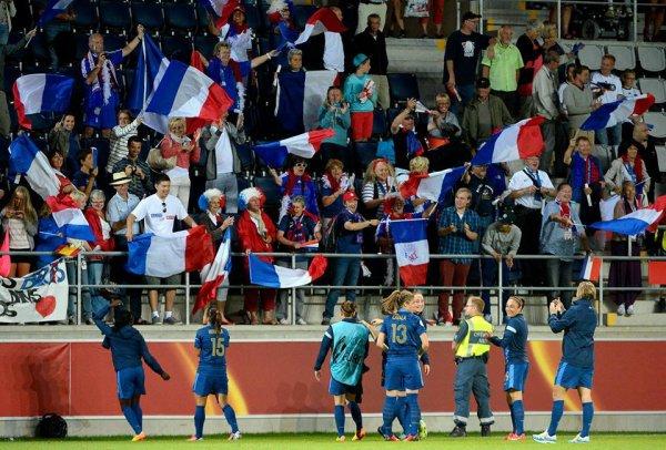 Elles redorent le drapeau de la France