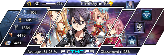 Bienvenue dans l'Univers de FireRayne16