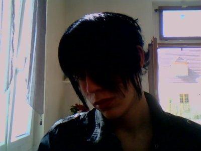 emo gothique ( mon coussin ) ^^