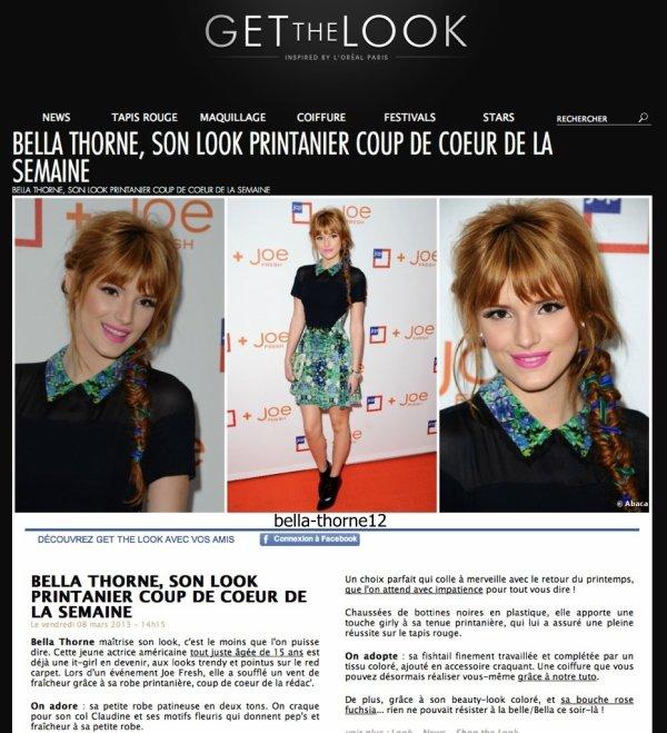 Bella et Zendaya en répétition + Bella dans un article Français + Photo + Vidéos