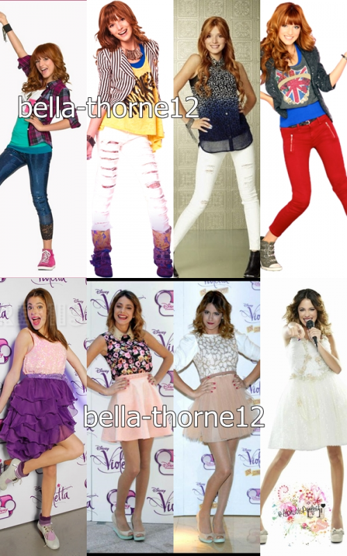 Bella Thorne Vs Martina Stoessel Version 2 Partie 1