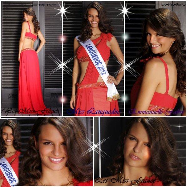 01/09/12 Photo officiels Miss Languedoc 2012 Emmanuelle Fabre