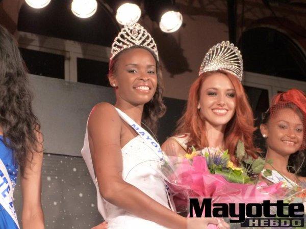 02/03/12 Delphiner Wespiser élection Miss Mayotte