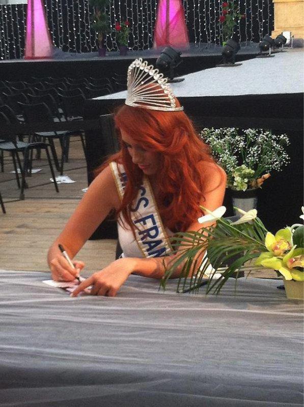 05/09/12 Delphine Wespiser eléction Miss Morbihan