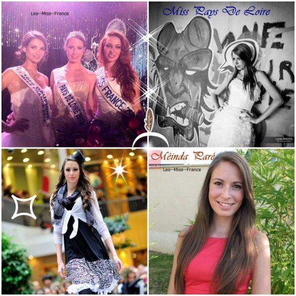 Miss Pays De Loire 2012 Mélinda Paré