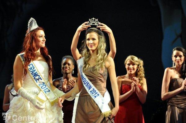 Miss Limousin 2012 Sandra Longeaud