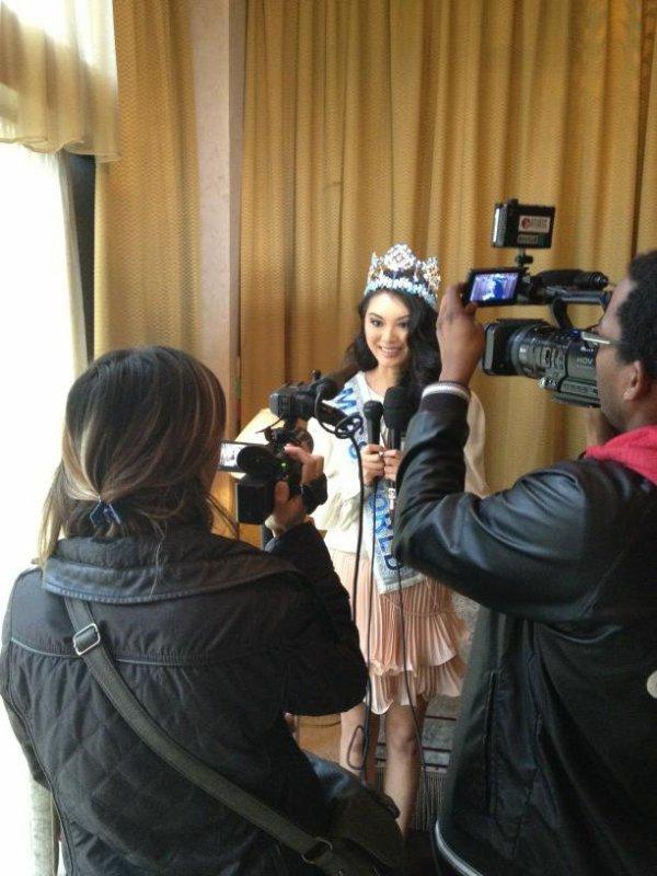 28/09/12 Wenxa Yu Miss Monde 2012 est en France