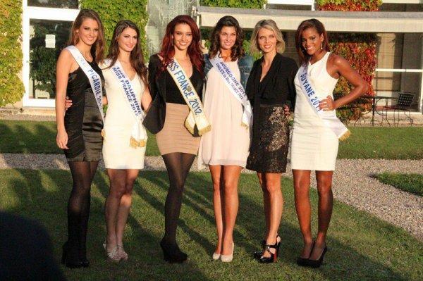 29/09/12 Delphine Wespiser eléction Miss Bourgogne 2012