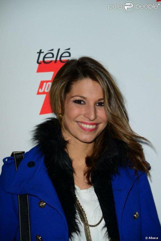 """13/12/12 Marine Loprhelin Soirée """"I Love TV On Ice """""""