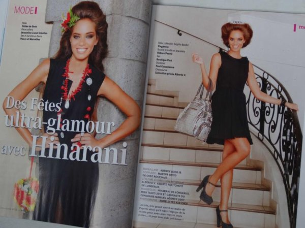 17/12/12 Photo Hinarani De Longeaux pour le magazine Femua Orama