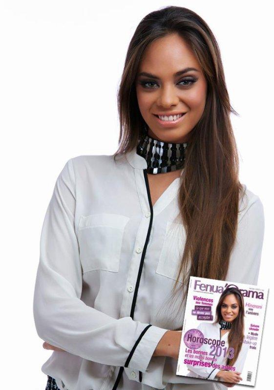 """14/01/13 Hianarani De Longeaux interview pour le magazine """"Tahitinews"""""""