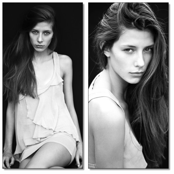 Camille Cerf / Mannequin Elite Model Look